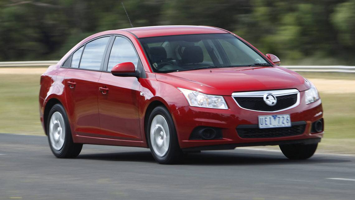 Holden Cruze Recalled Again 21 000 Cars Due To Handbrake