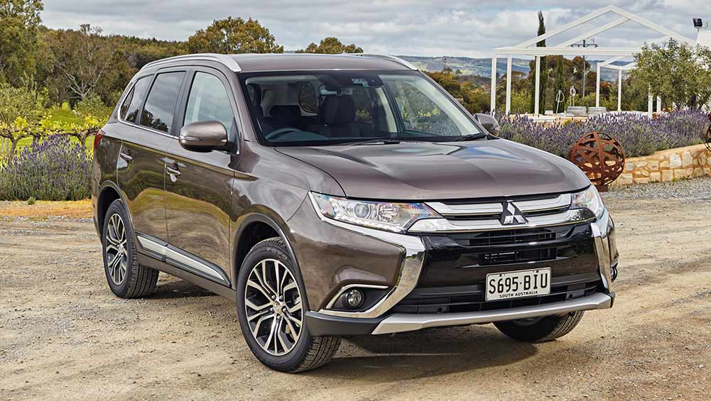 2016 mitsubishi outlander new car sales price car news. Black Bedroom Furniture Sets. Home Design Ideas