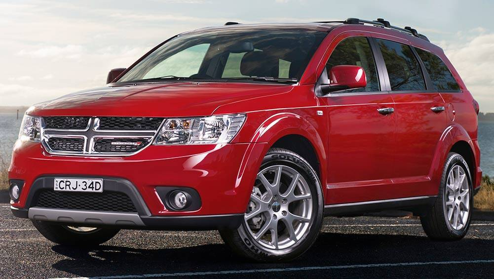 2016 dodge journey r t review road test carsguide. Cars Review. Best American Auto & Cars Review