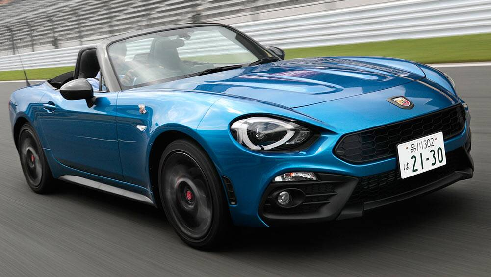 Fiat Abarth 124 Spider 2016 Review First Drive Carsguide