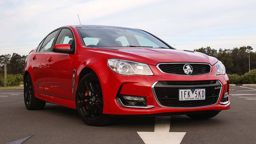 VFII Holden Commodore SS-V Redline sedan 2016 review | road test ...