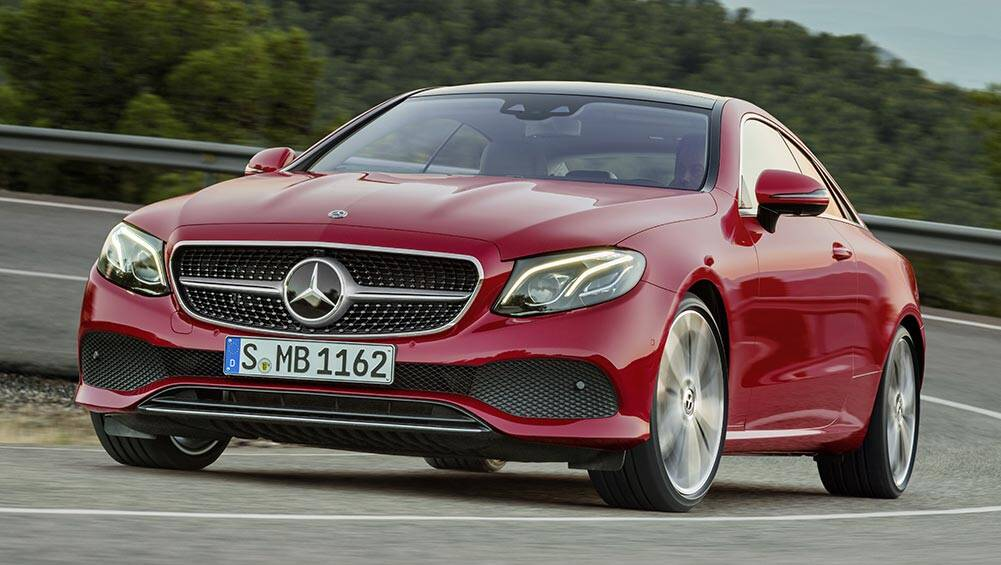 2017 mercedes benz e class coupe revealed car news carsguide. Black Bedroom Furniture Sets. Home Design Ideas