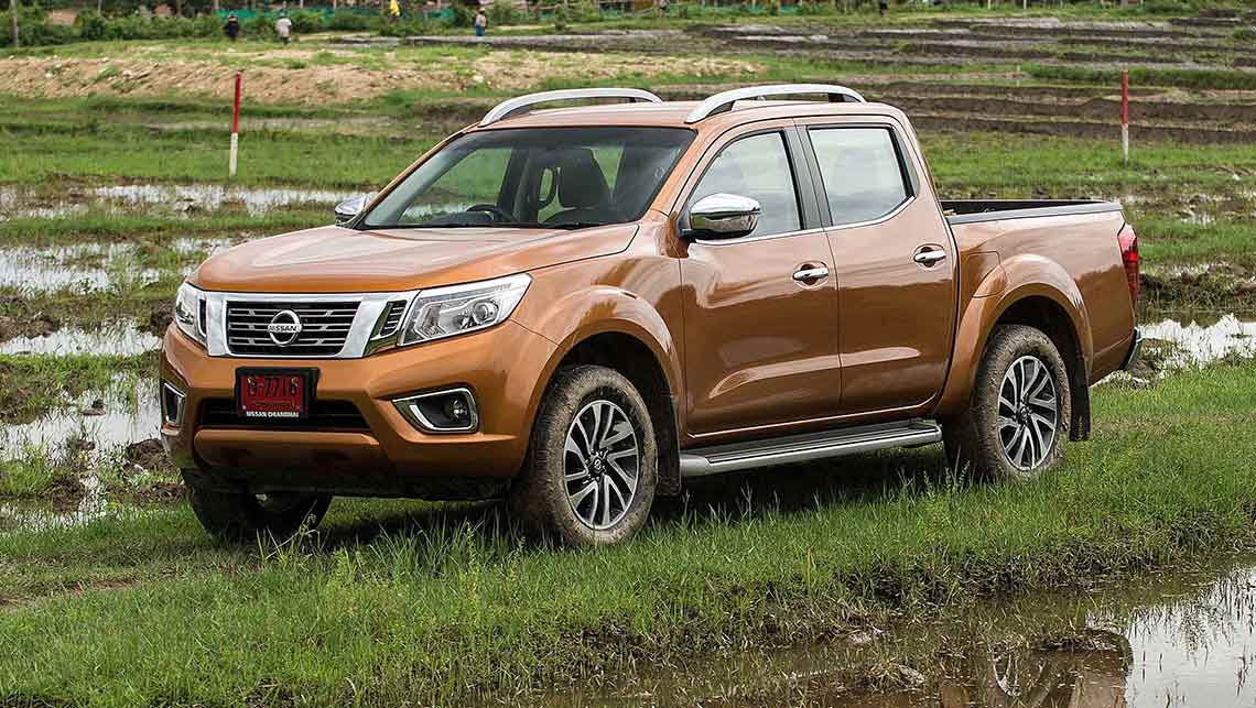 first details on new nissan navara ute car news carsguide. Black Bedroom Furniture Sets. Home Design Ideas