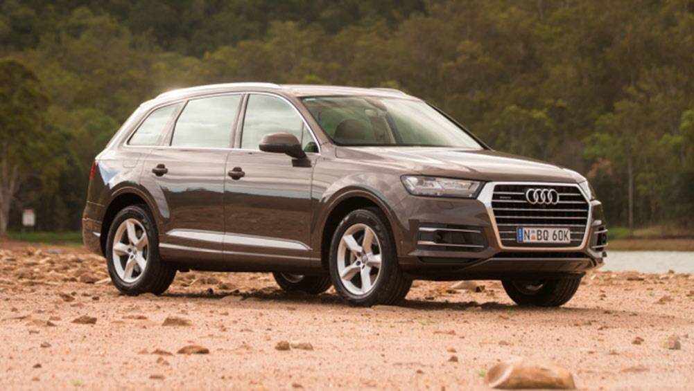 audi q7 tdi 160 2016 review road test carsguide. Black Bedroom Furniture Sets. Home Design Ideas