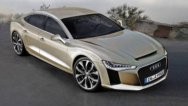 Audi A9 Spy Shot Rendering Car News Carsguide