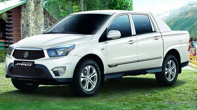 new ssangyong actyon ute due in march car news carsguide. Black Bedroom Furniture Sets. Home Design Ideas