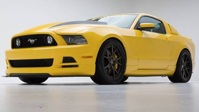 ford yellow jacket mustang for sema car news carsguide. Black Bedroom Furniture Sets. Home Design Ideas