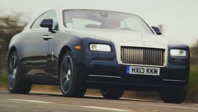 Rolls Royce Wraith Video Review Rolls-royce Wraith Hits The