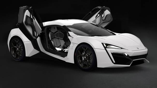 W Motors Lykan Hypersport Will Cost 3 7m Car News