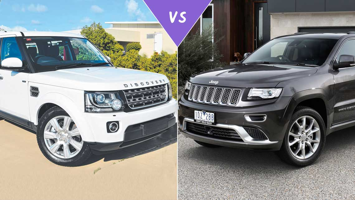Land Rover Discovery 4 Vs Jeep Grand Cherokee Review