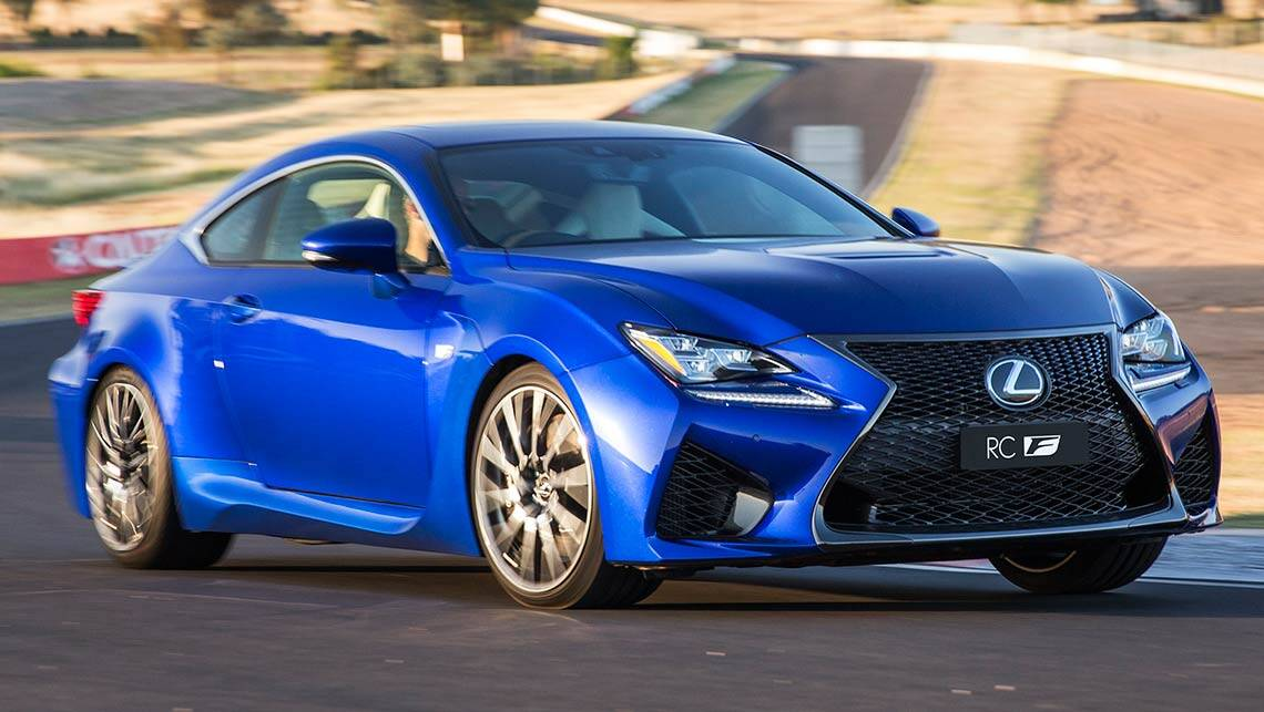 2015 lexus rc f new car sales price car news carsguide. Black Bedroom Furniture Sets. Home Design Ideas