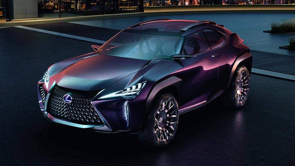 Lexus reveals UX SUV concept in Paris