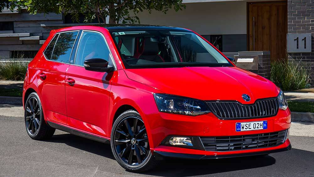 skoda fabia monte carlo hatch 2017 review snapshot carsguide. Black Bedroom Furniture Sets. Home Design Ideas
