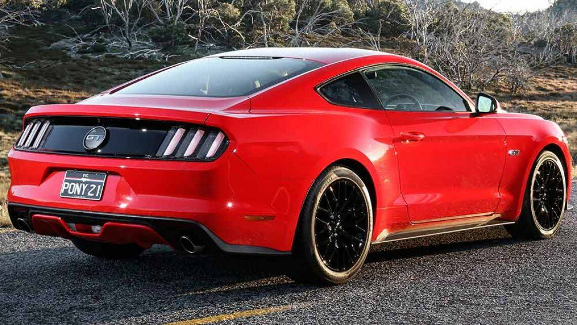 2016 ford mustang v8 gt coupe review road test carsguide. Black Bedroom Furniture Sets. Home Design Ideas