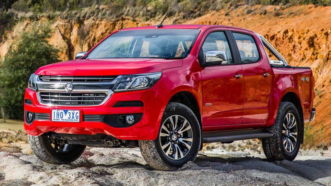 Holden Colorado 2017 Review Carsguide
