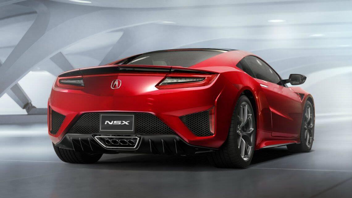 2016 Honda Nsx Revealed Car News Carsguide