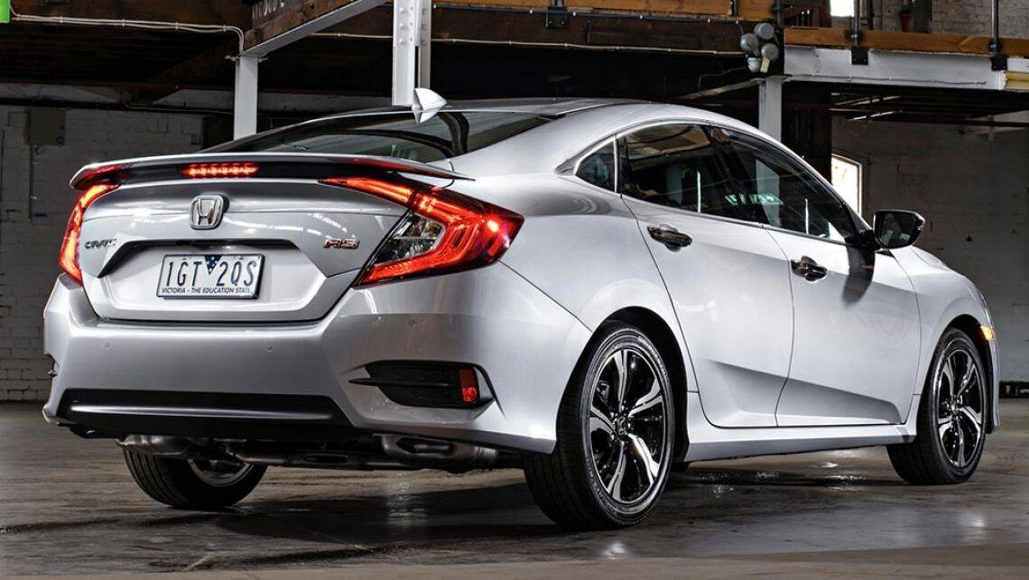 2016 honda civic sedan new car sales price   car news carsguide