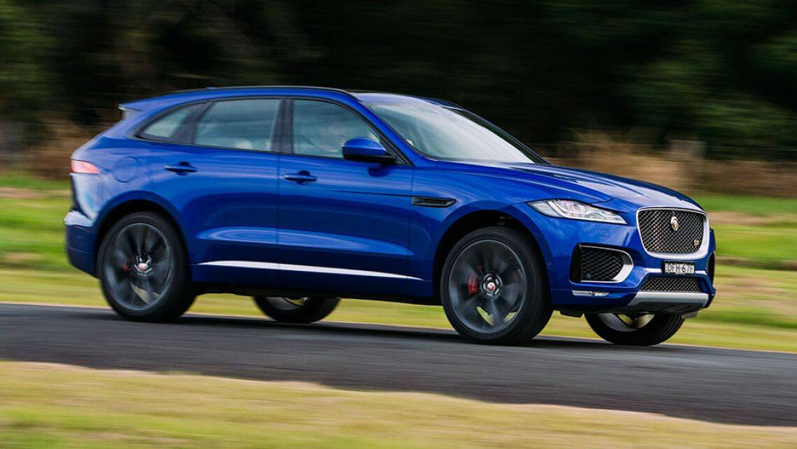 jaguar f pace 2016 new car sales price car news carsguide. Black Bedroom Furniture Sets. Home Design Ideas