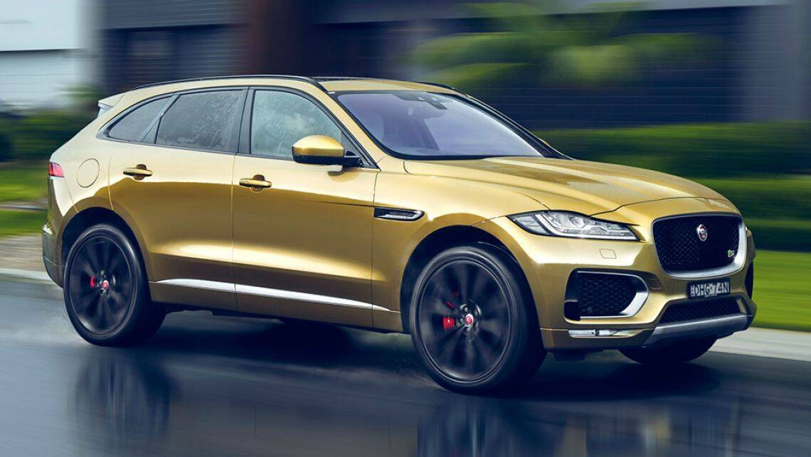 jaguar f pace 2016 review first australian drive carsguide. Black Bedroom Furniture Sets. Home Design Ideas