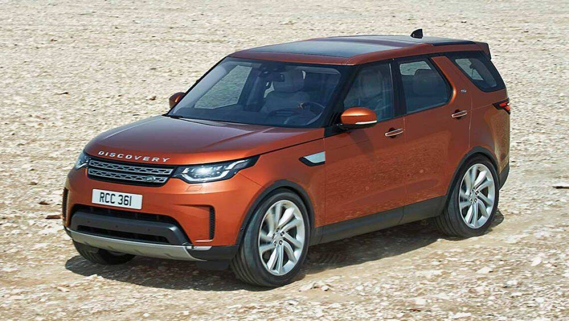 2017 land rover discovery revealed car news carsguide. Black Bedroom Furniture Sets. Home Design Ideas