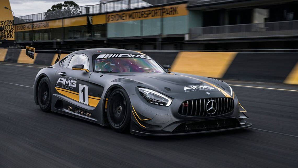 2016 mercedes amg gt3 review quick track test carsguide for Mercedes benz amg 6 3