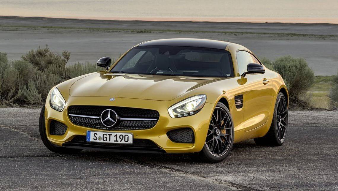 2015 mercedes amg gt revealed car news carsguide. Black Bedroom Furniture Sets. Home Design Ideas