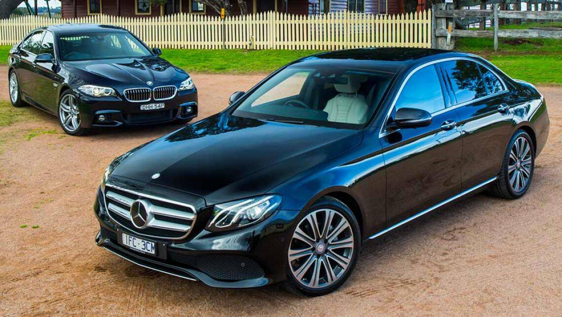Mercedes Benz E220d And Bmw 520d Review 2016 Review