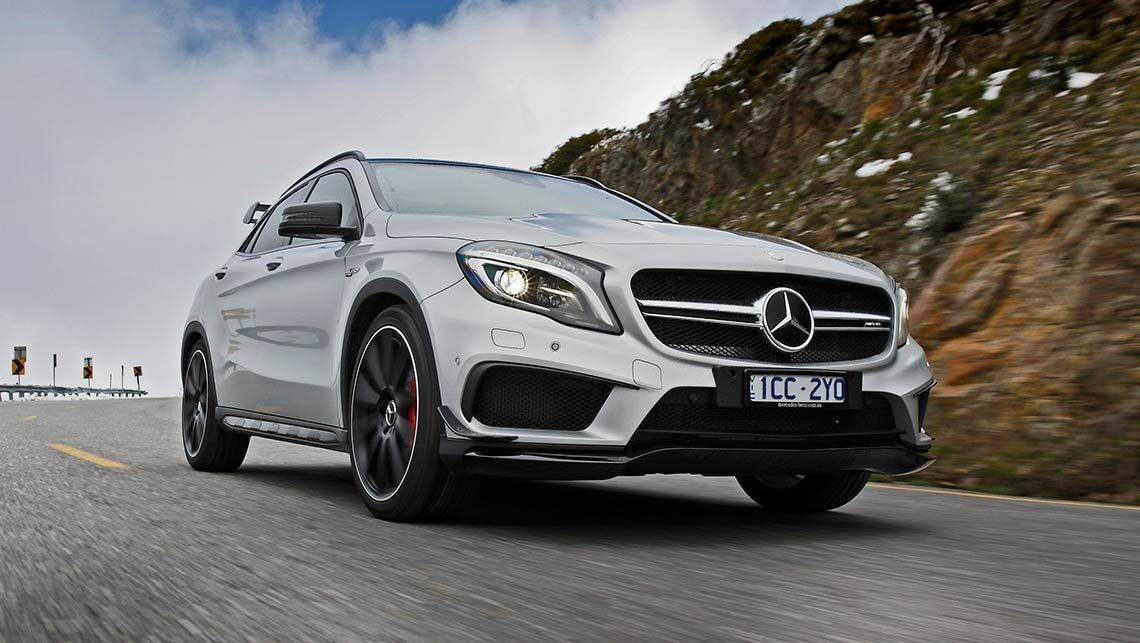 2014 mercedes benz gla 45 amg review carsguide. Black Bedroom Furniture Sets. Home Design Ideas