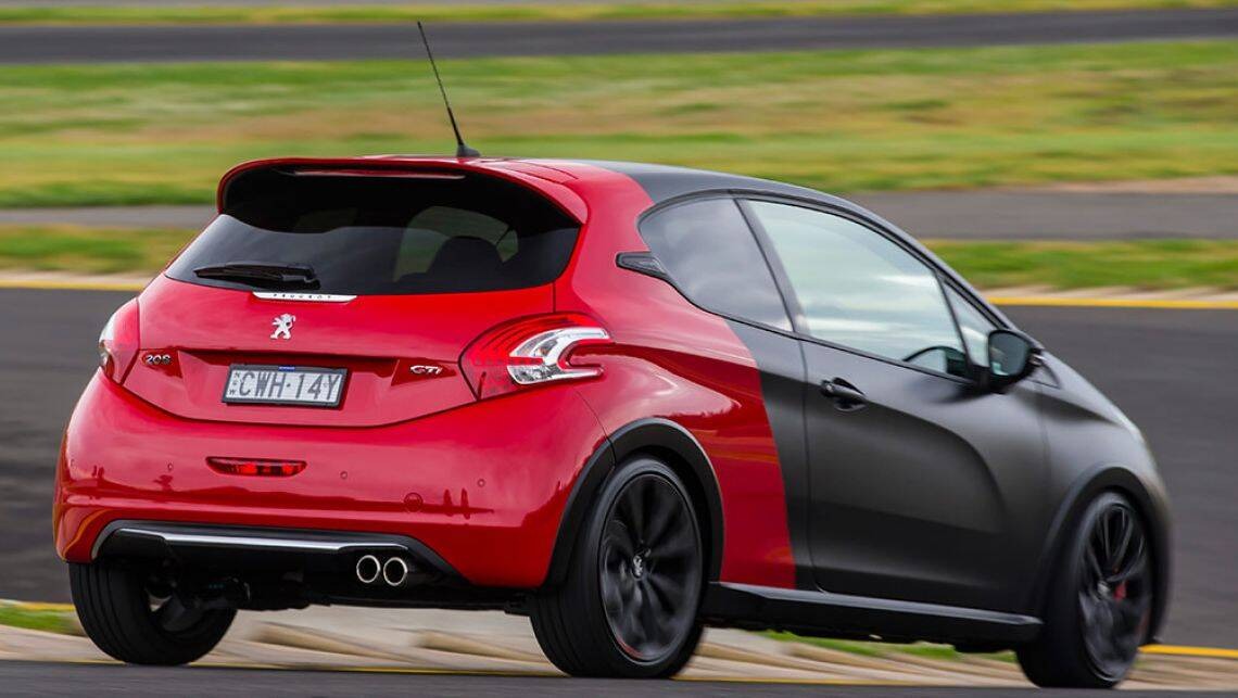 2015 peugeot 208 gti review carsguide. Black Bedroom Furniture Sets. Home Design Ideas