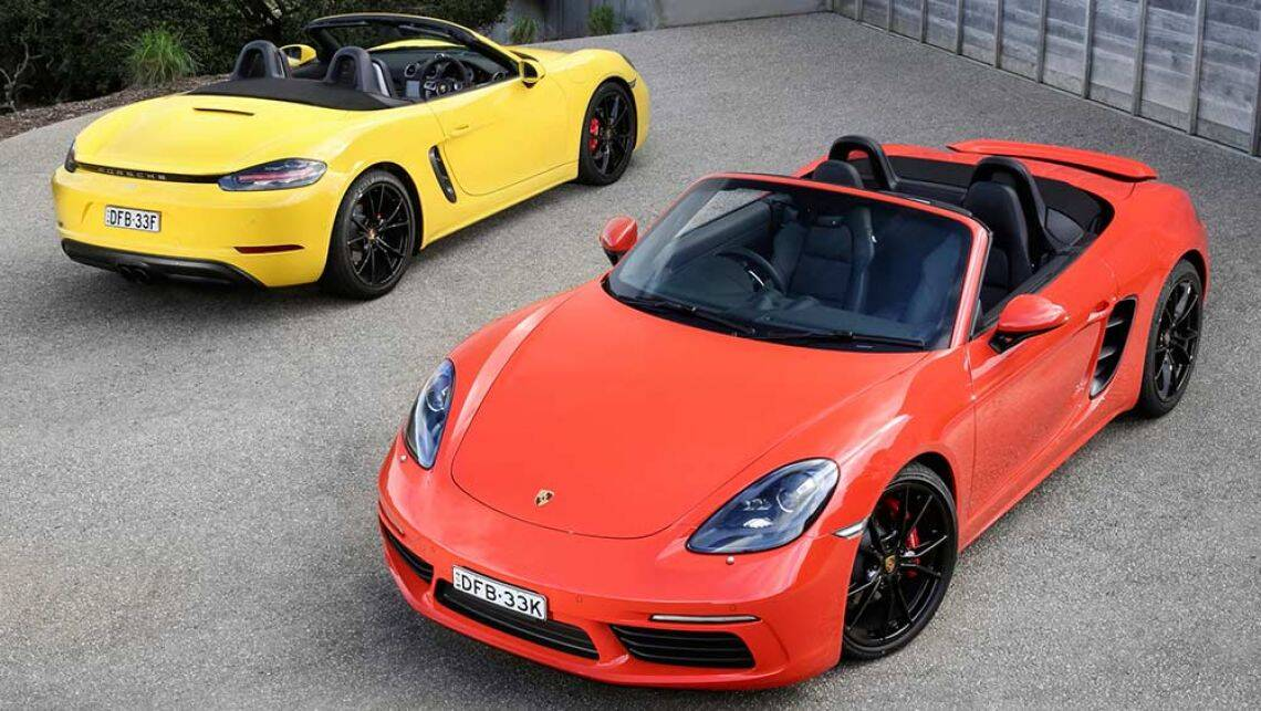 2016 porsche boxster 718 review first australian drive. Black Bedroom Furniture Sets. Home Design Ideas