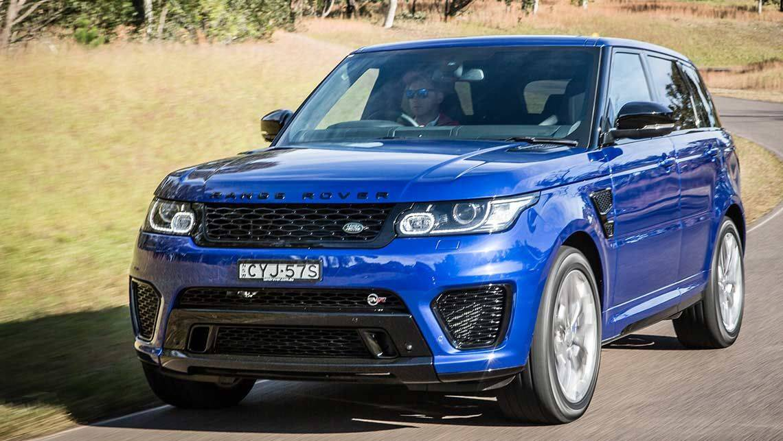 2015 land rover range rover sport svr review first drive carsguide. Black Bedroom Furniture Sets. Home Design Ideas