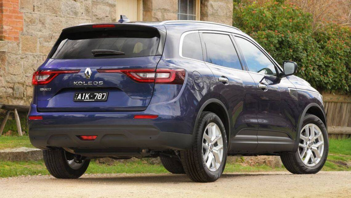 renault koleos zen 4x2 2016 review snapshot carsguide. Black Bedroom Furniture Sets. Home Design Ideas
