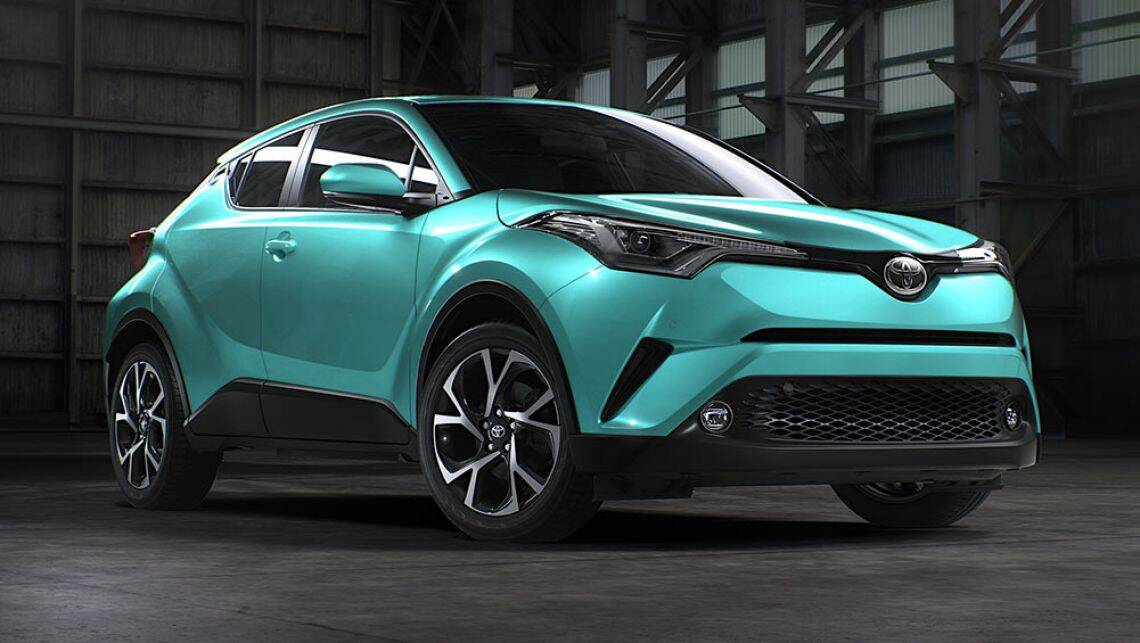 2017 Toyota C-HR Australian-spec revealed | video - Car ...