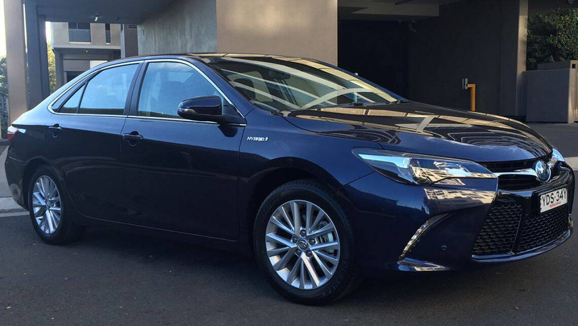 toyota camry hybrid atara sl 2016 review road test. Black Bedroom Furniture Sets. Home Design Ideas
