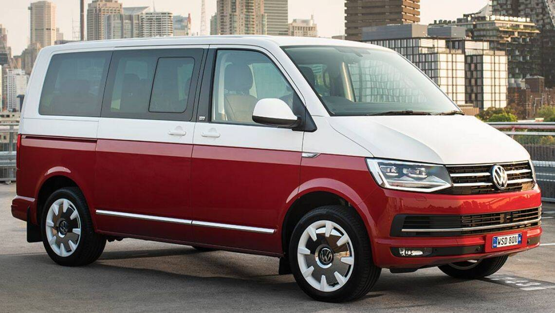 2016 volkswagen t6 transporter caravelle and multivan new car sales price car news carsguide. Black Bedroom Furniture Sets. Home Design Ideas