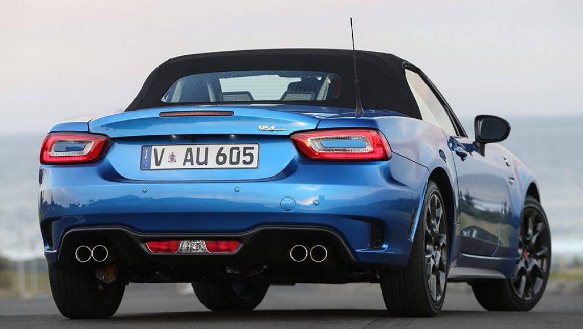 abarth 124 spider 2016 new car sales price car news carsguide. Black Bedroom Furniture Sets. Home Design Ideas