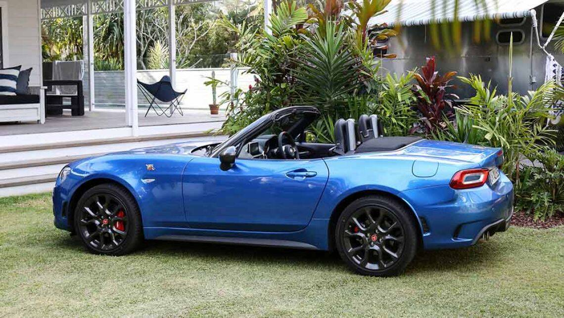 Abarth 124 Spider 2016 Review First Australian Drive