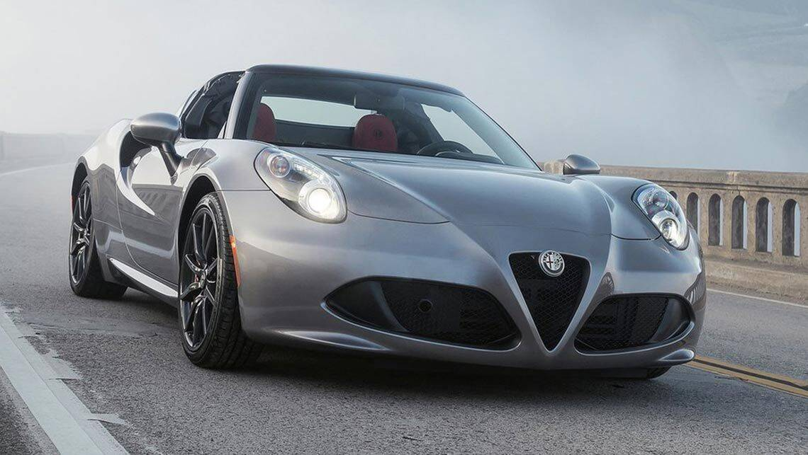2015 alfa romeo 4c spider review first drive carsguide. Black Bedroom Furniture Sets. Home Design Ideas