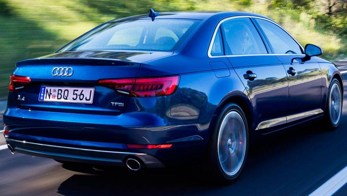 Simple 2016 Audi A4 20 TFSI Quattro SLine Review  Road Test