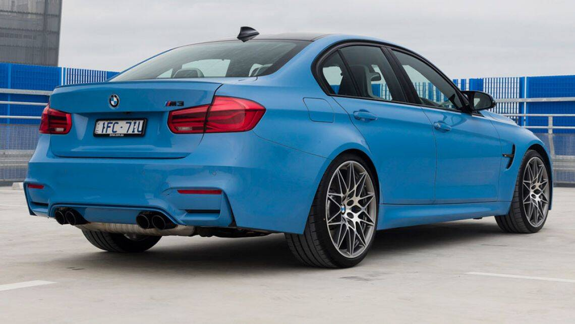 bmw m3 and m4 competition 2016 review first drive video carsguide. Black Bedroom Furniture Sets. Home Design Ideas