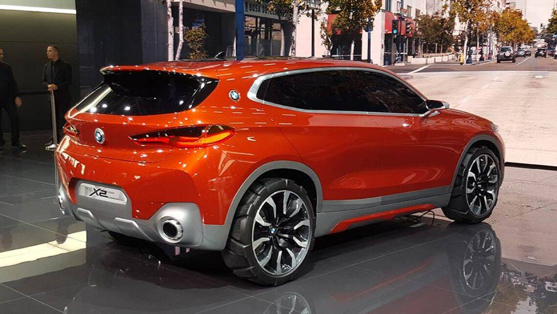 Bmw X2 Suv Concept Revealed In Paris Video Car News