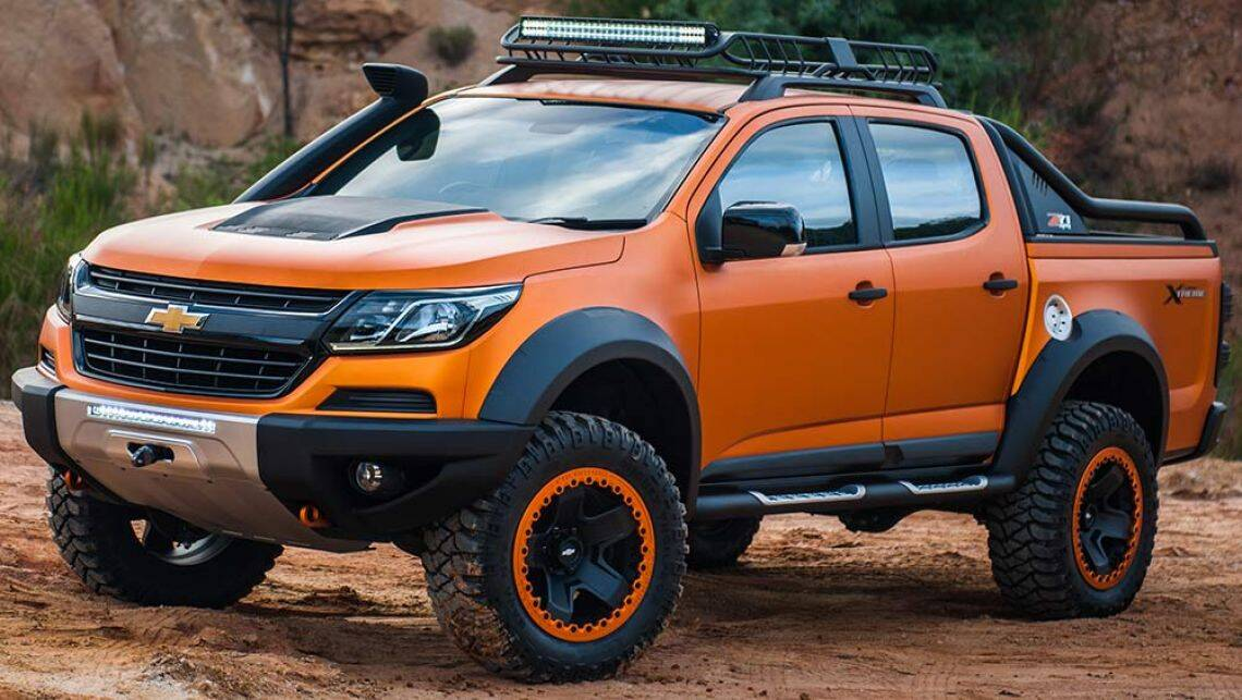 2016 Holden Colorado Ute Update Previewed In Bangkok Car