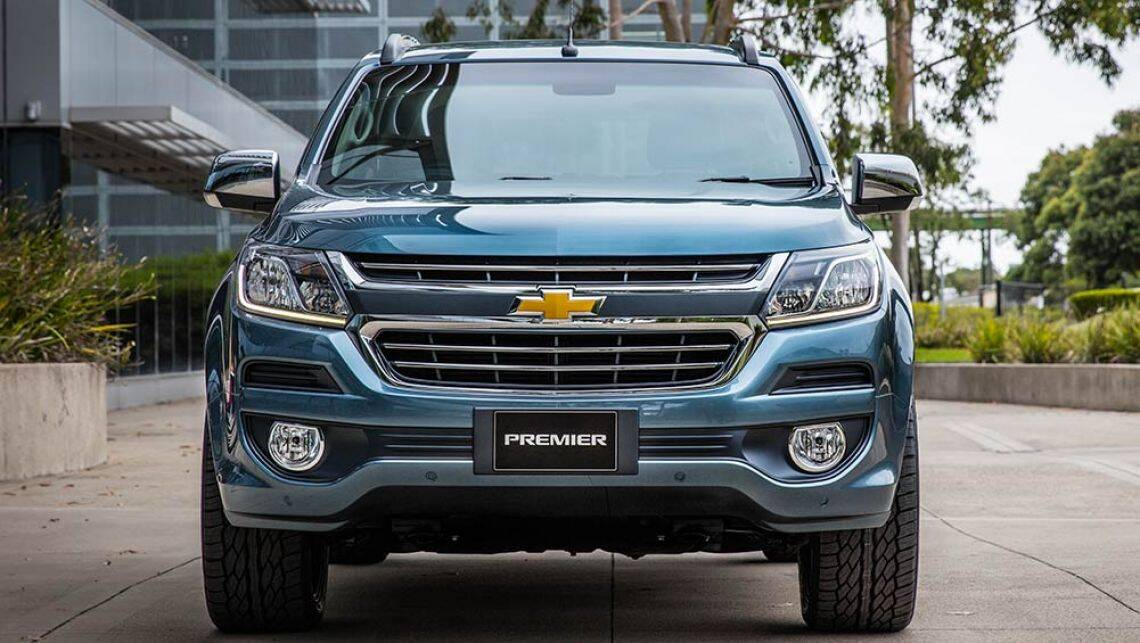 Chevy Trailblazer 2016 >> 2016 Holden Colorado ute update previewed in Bangkok - Car ...