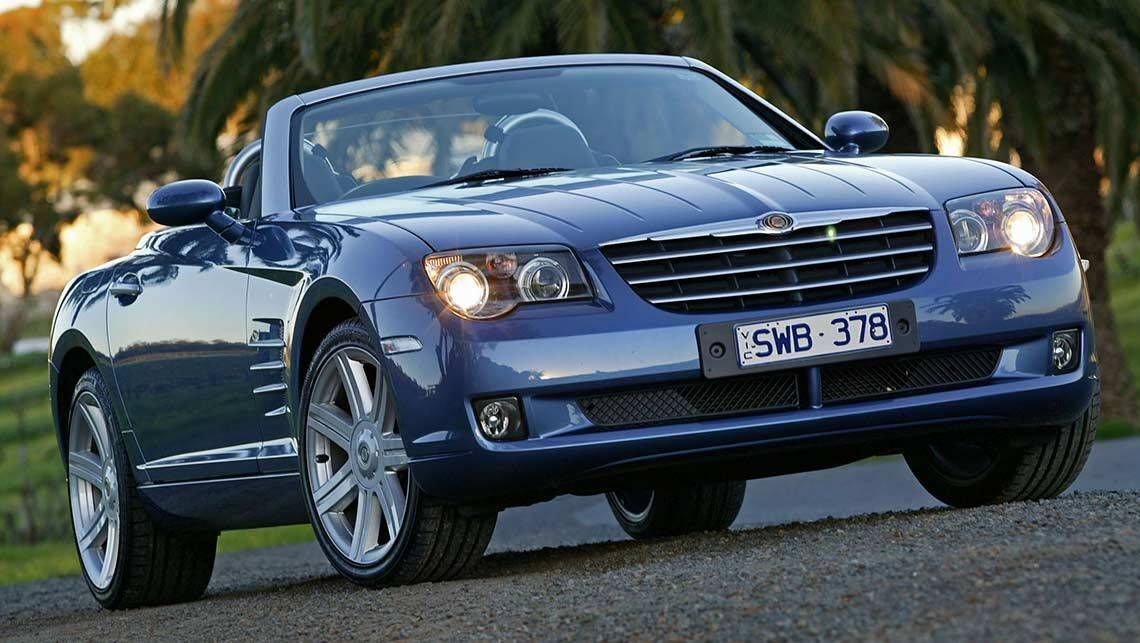 2005 Chrysler Crossfire Roadster 2005 Chrysler Crossfire coupe SRT6 ...