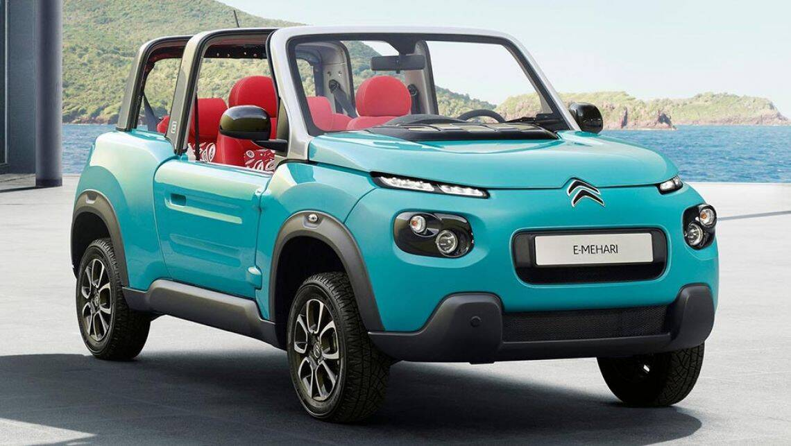 citroen builds a mini moke with the e mehari ev car news carsguide. Black Bedroom Furniture Sets. Home Design Ideas
