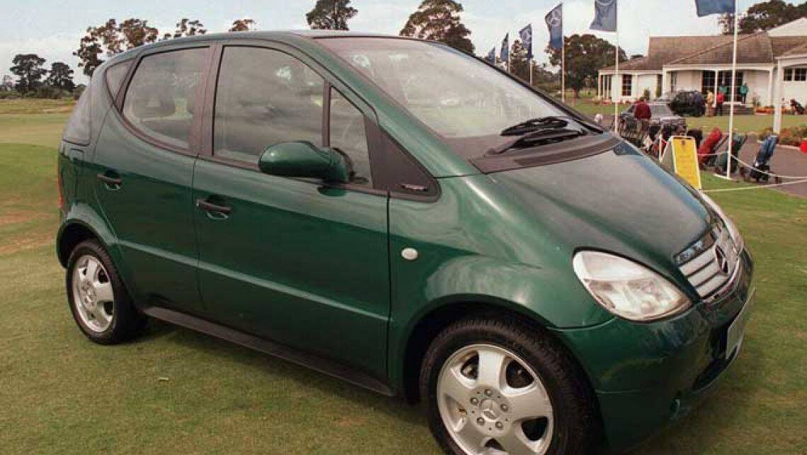 used car review mercedes benz a class 1998 2003 car reviews carsguide. Black Bedroom Furniture Sets. Home Design Ideas