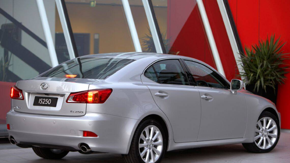 in the garage lexus is250 car reviews carsguide. Black Bedroom Furniture Sets. Home Design Ideas