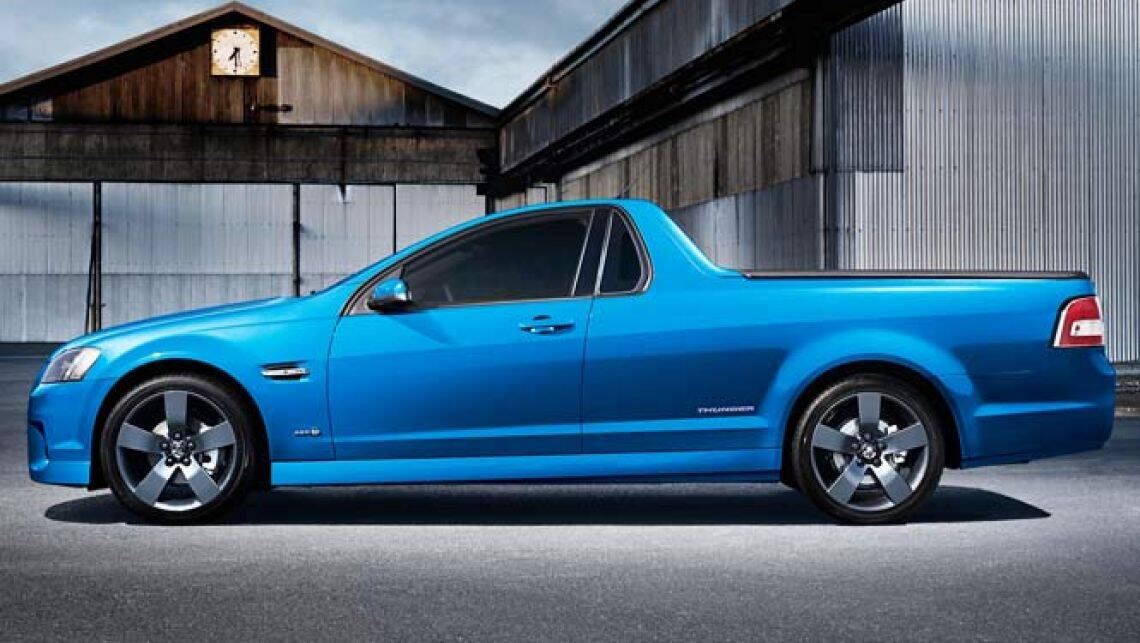 Holden Thunder Ute Returns Car News Carsguide