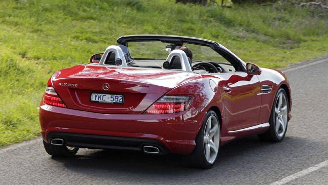 Mercedes benz slk review carsguide for Mercedes benz 2 seater cars