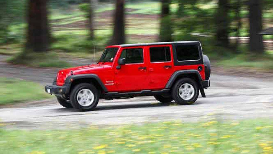 Car and driver jeep wrangler unlimited reviews #2